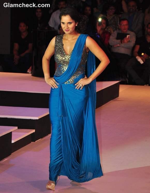 Sania Mirza Blenders Pride Fashion Week 2012 mumbai Shantanu Nikhil