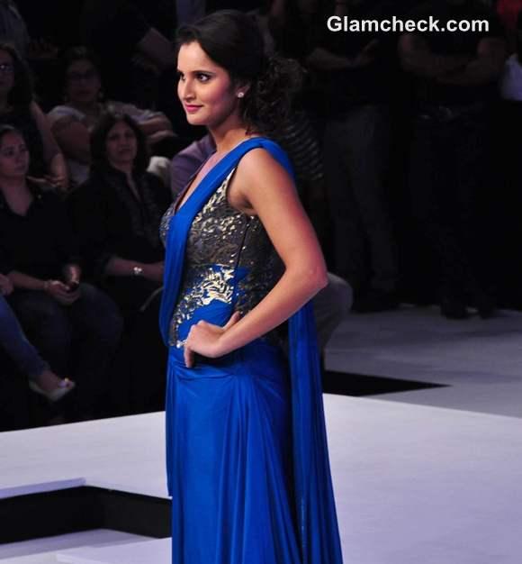 Sania Mirza Shantanu Nikhil Blenders Pride Fashion Week 2012