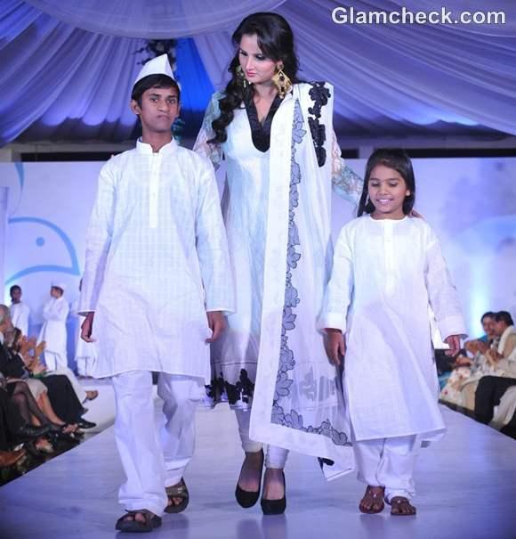 Sania Mirza for Global Peace Initiative Walk Peace by Neeta Lulla