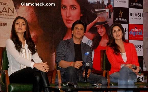 Shahrukh Katrina Anushka Jab Tak Hai Jaan Promotions Jalandhar