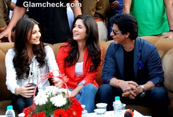 Shahrukh Katrina Anushka Jab Tak Hai Jaan Promotions in Jalandhar