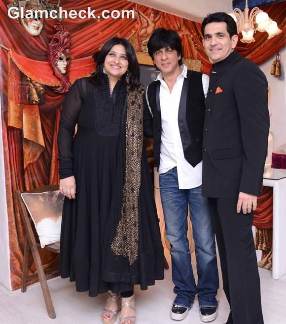 Shahrukh Khan Inaugurates Lifestyle Store in Andheri