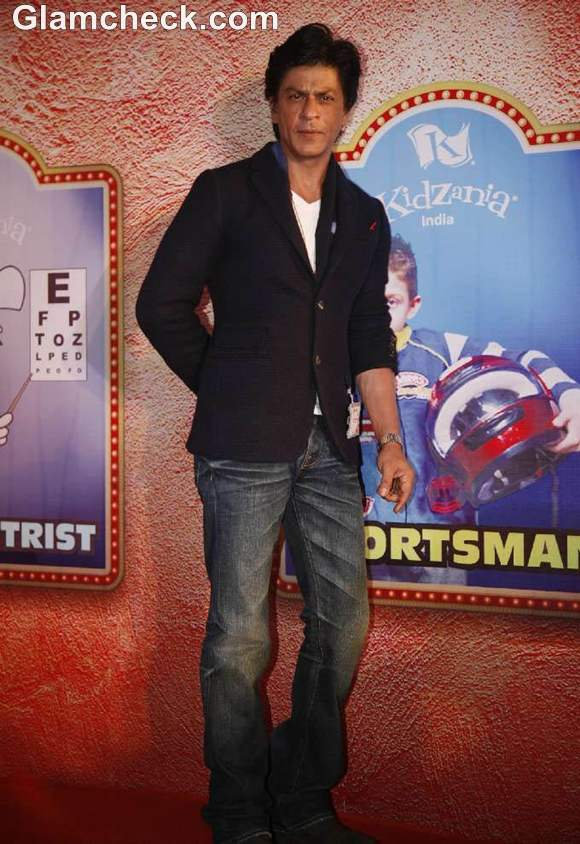 Shahrukh Khan Promotes KidZania
