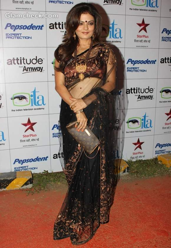 Sheeba  Indian Television Awards 2012 Mumbai