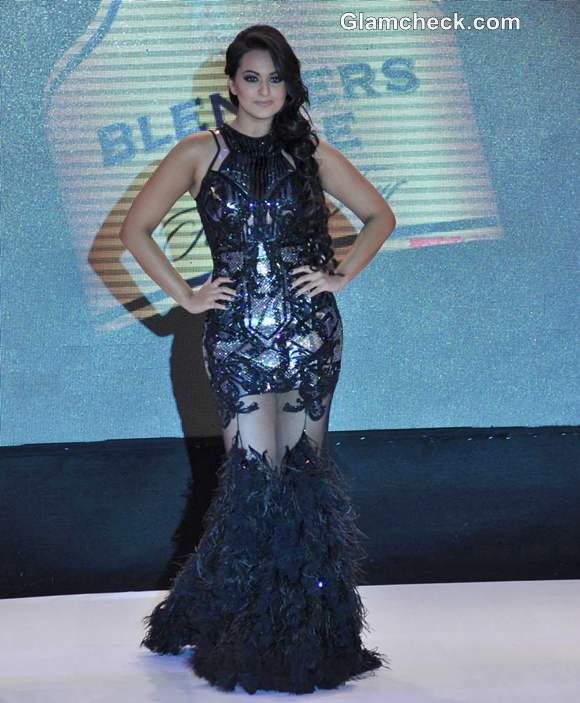 Sonakshi Sinha Falguni Shane Peacock Blenders Pride Fashion Week 2012 Mumbai