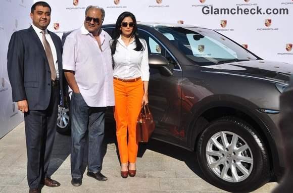 Sridevi Boney Kapoor Ride 100th Porsche SUV Cayenne Diesel Car Home
