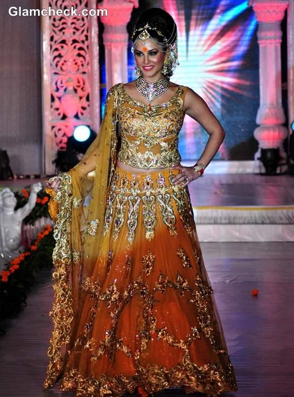 Sunny Leone in lehnga for Rohit Verma's IGNITE