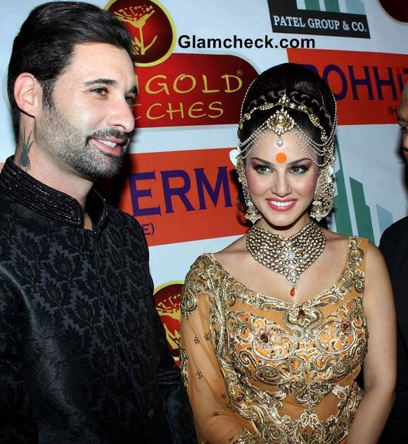 Sunny Leone with husband for Rohit Vermas IGNITE