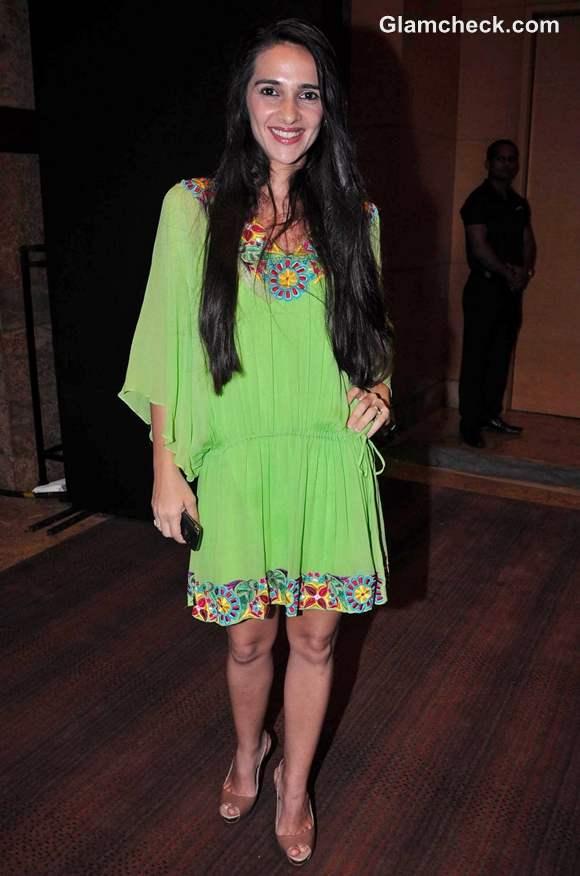 Tara Sharma Blenders Pride Fashion Tour 2012 Mumbai