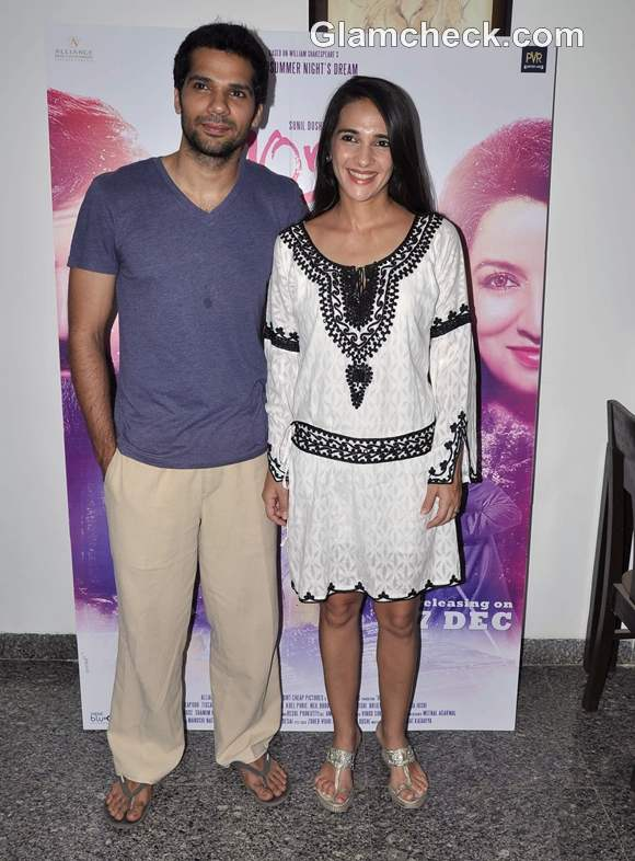 Tara Sharma promotes movie 10 ml Love