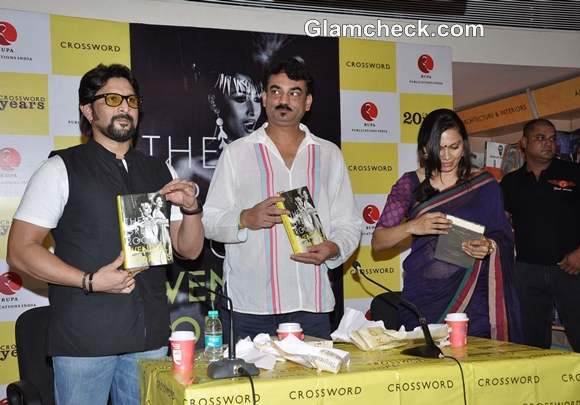 Wendell Rodricks Launches His New Book The Green Room Arshad Warsi with wife Maria Goretti