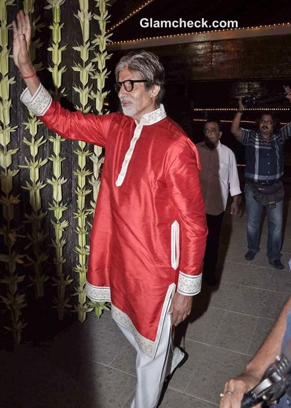 amitabh Bachchan Diwali Bash