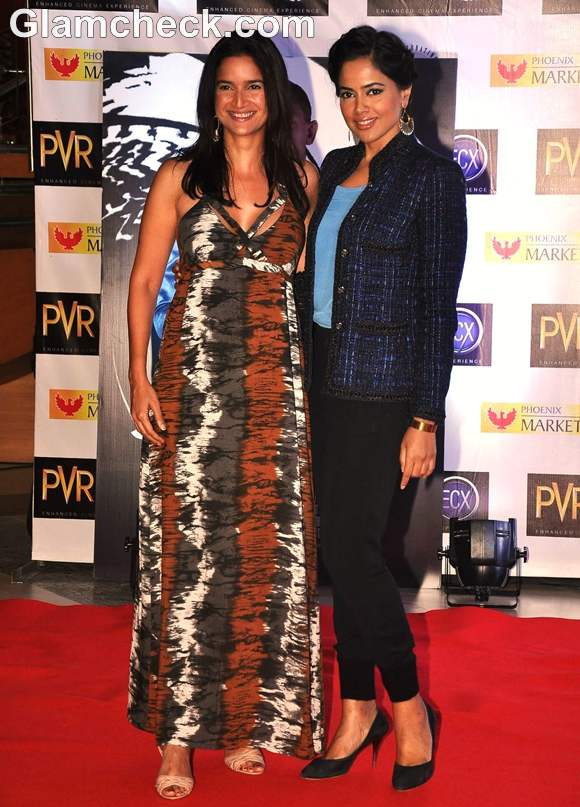 sameera reddy Skyfall Mumbai Premiere