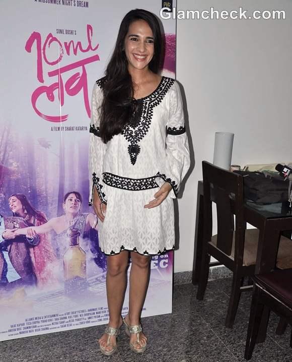 tara sharma 10 ml Love Promote Film