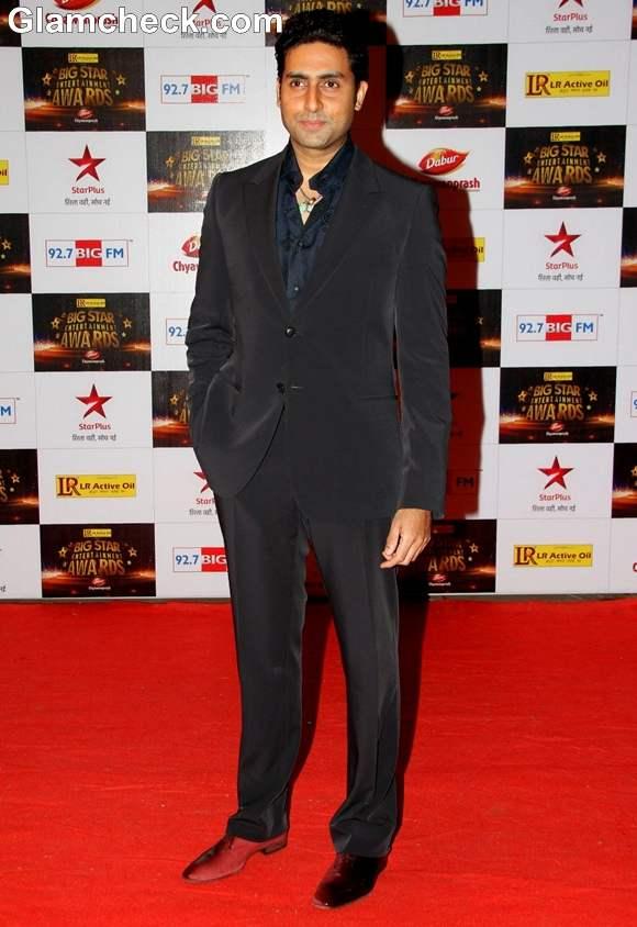 Abhishek Bachchan at The Big Star Entertainment Awards 2012