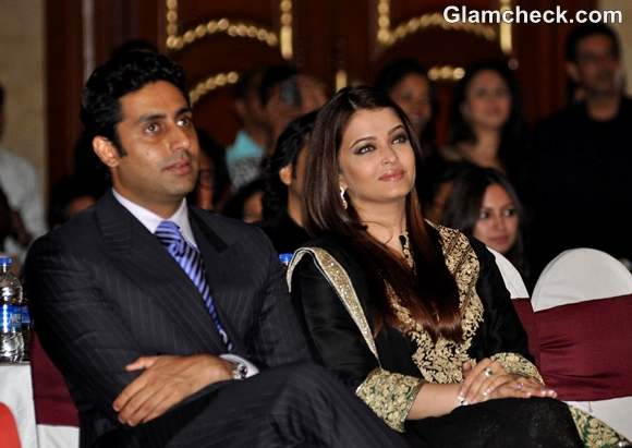 Abhishek Bachchan with wife Aishwarya Rai Bachahan