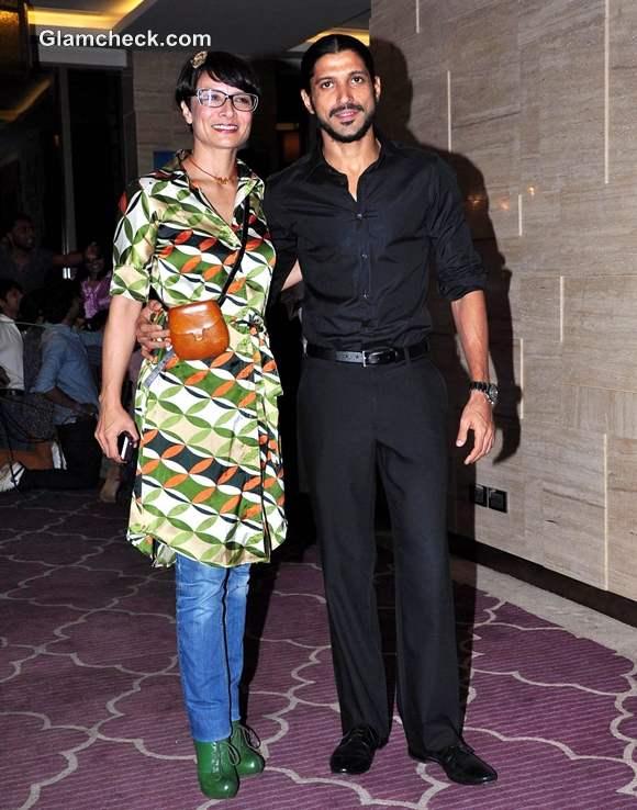 Adhuna Farhan Akhtar Launch Of Sanjay Kapoors Book Talespin