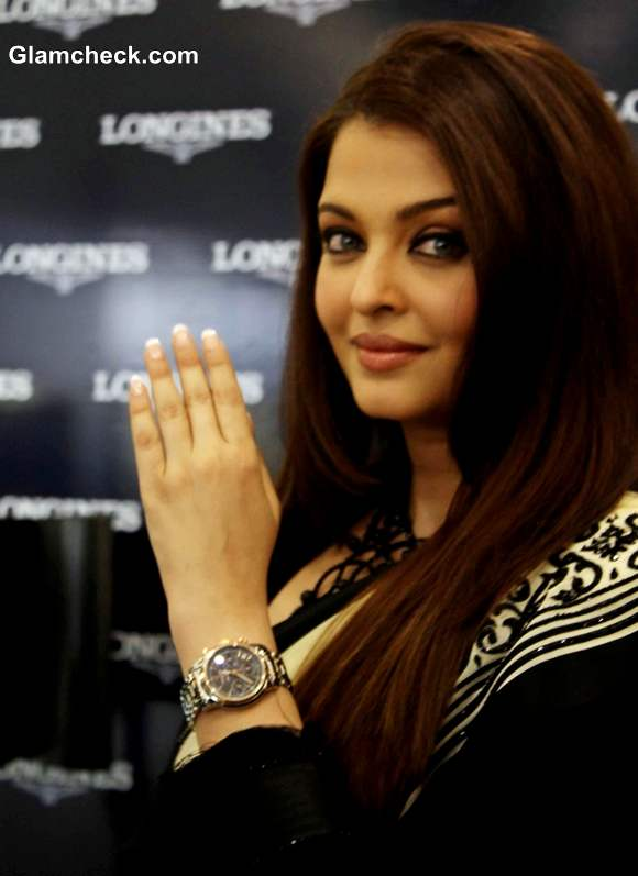 Aishwarya Rai at the launch Of Longines Boutique in Hyderabad