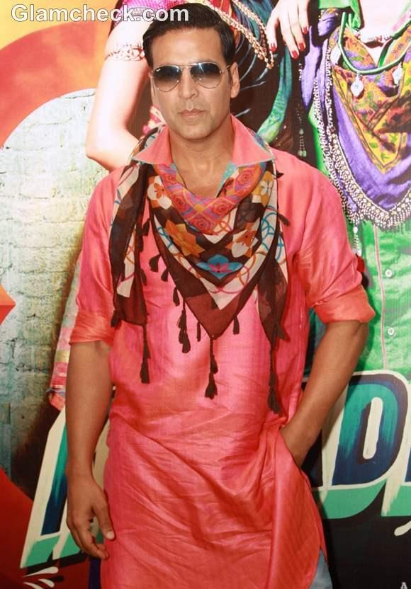 Akshay Kumar Promote Khiladi 786 At Hotel Westin Gurgaon