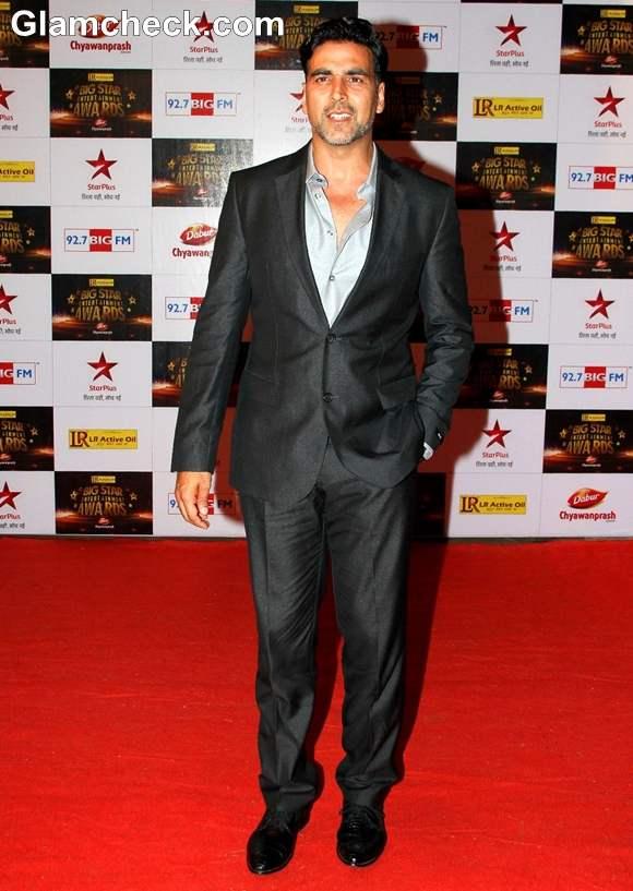 Akshay Kumar at The Big Star Entertainment Awards 2012