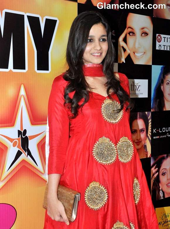 Alia Bhatt In anarkali dress