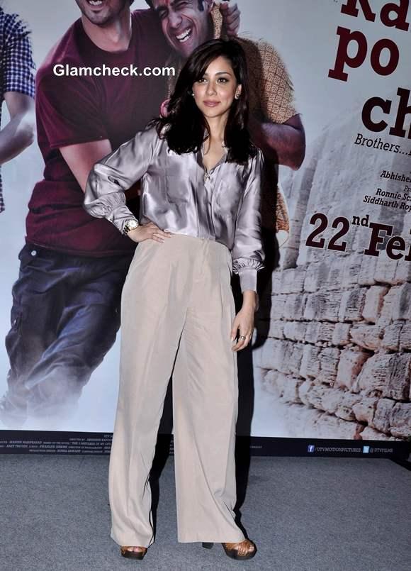 Amrita Puri Kai Po Che Trailor launch in Cinemax