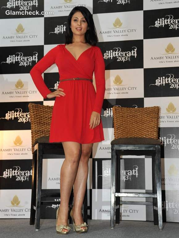 Anjana Sukhani announces Aamby Valley City Glitterati 2013