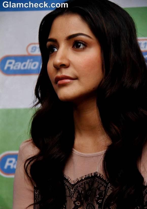 Anushka Sharma at  91-1 FM Radio City Studios  Bandra