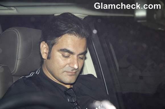 Arbaaz Khan at Salman Khan 47th Birthday Bash