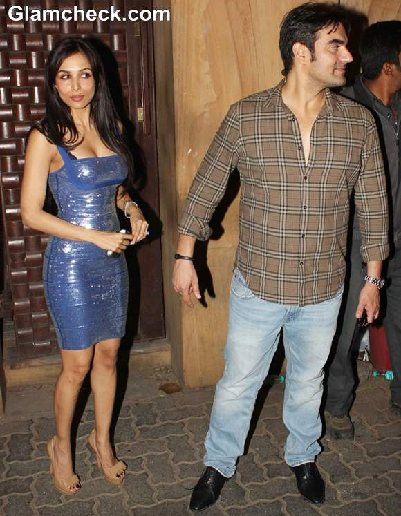 Arbaaz Khan with  Malaika Arora Khan