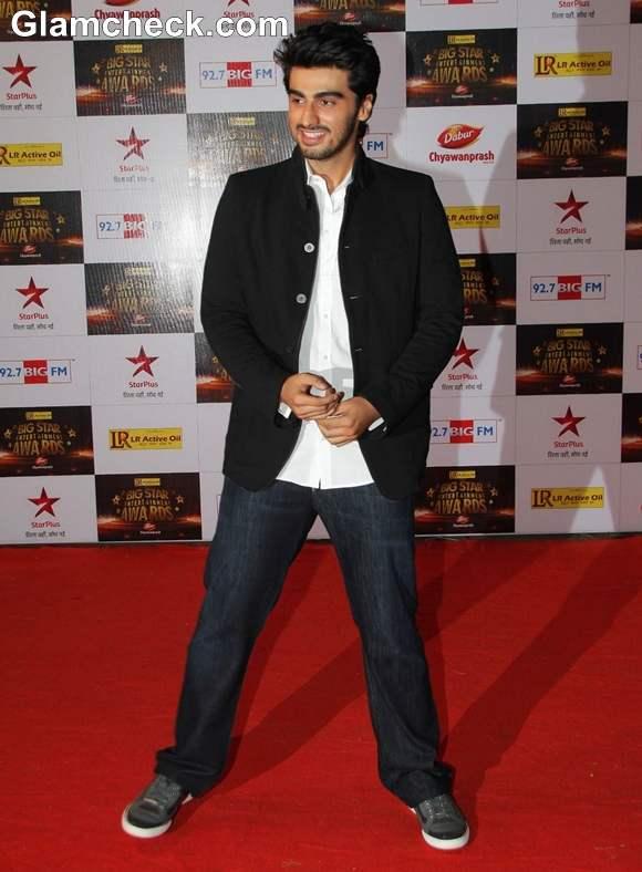 Arjun Kapoor at The Big Star Entertainment Awards 2012