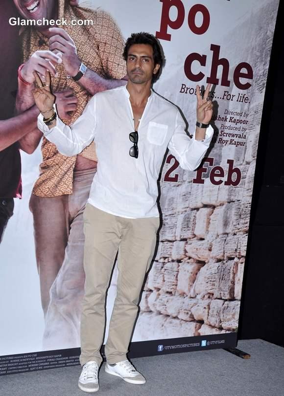 Arjuna Rampal Kai Po Che Trailor launch in Cinemax