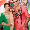 Asin Akshay Kumar Promote Khiladi 786 At Hotel Westin Gurgaon