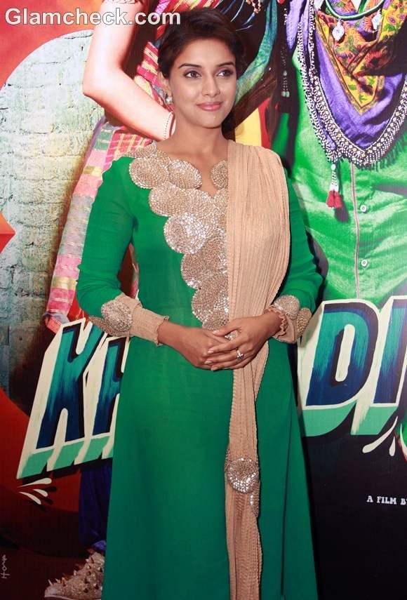 Asin Promotes Khiladi 786 At Hotel Westin Gurgaon