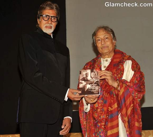 Big B Releases Amjad Ali Khan Book My Father, Our Fraternity