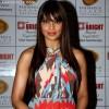 Bipasha Basu hairstyle at 1st Bright Awards Night 2012