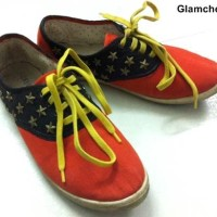 DIY Transform your Boring Sneakers into Statement Sneakers-13