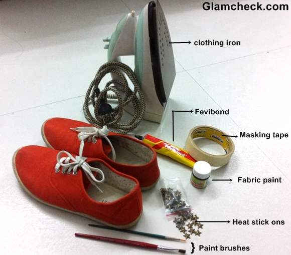 DIY Transform your Boring Sneakers into Statement Sneakers-2