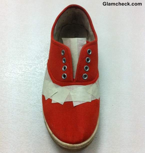 DIY Transform your Boring Sneakers into Statement Sneakers-4