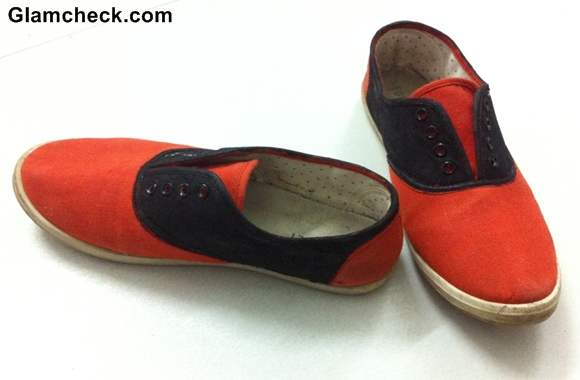 DIY Transform your Boring Sneakers into Statement Sneakers-6