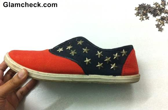 DIY Transform your Boring Sneakers into Statement Sneakers-8