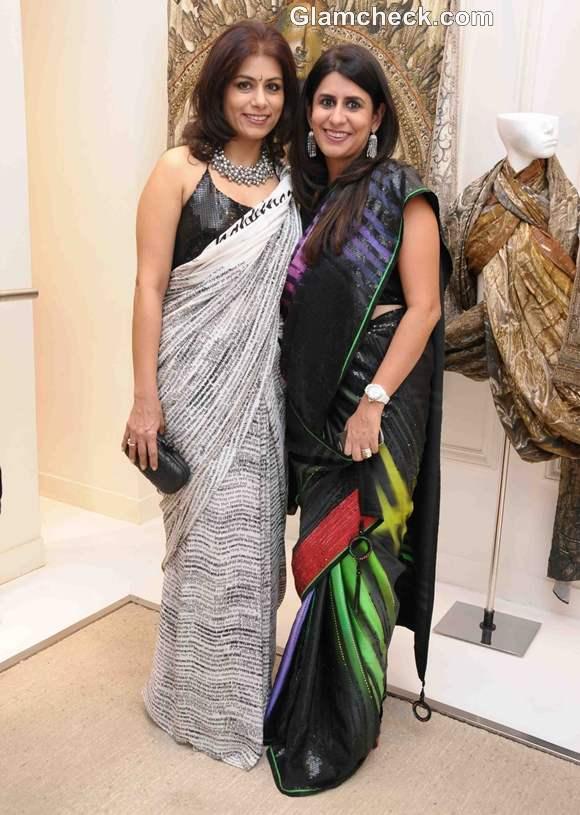 Deepika Gehani  Sujata Assoumal Sippy at Masaba as Satya Paul director announcement in Mumbai