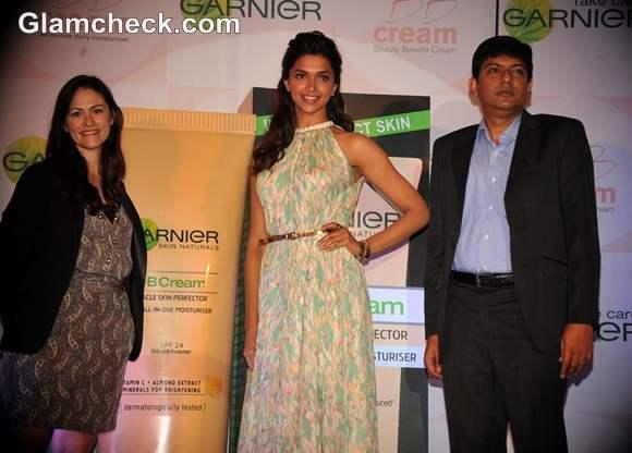 Deepika Padukone Garnier New BB Cream launch