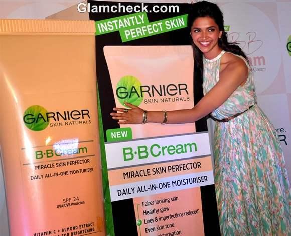 Deepika Padukone Launches Garnier New BB Cream