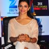 Deepika Padukone Sports Distressed Jeans at the Zee Cine Awards 2013 press conference