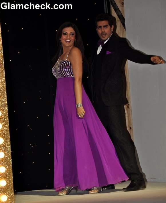 Deepshikha with husband Kaishav Arora Nach Baliye Season 5 Contestant