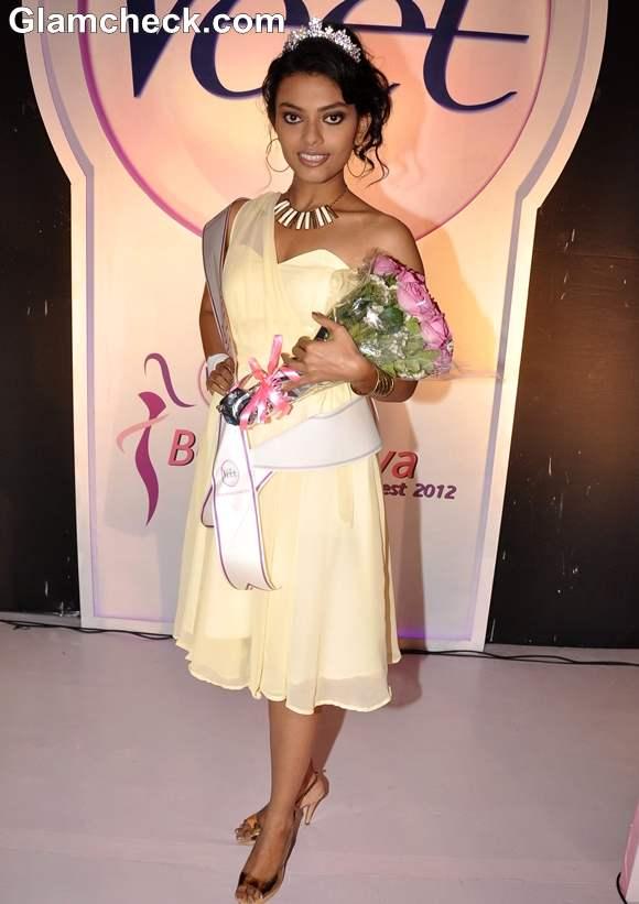 Dimple Paul Winner of Veet Be The Diva 2012