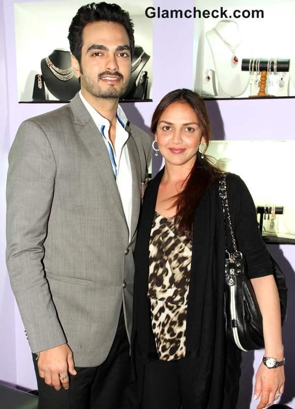 Esha Deol with husband Bharat Taktani