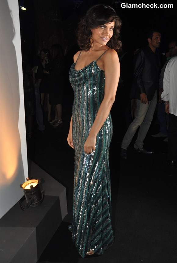 Esha gupta gown at Grey Goose Style Du Jour Spirit of Style party