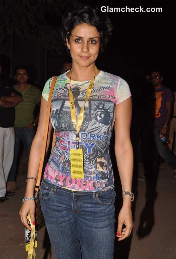 Gul Panag at Gun N Roses concert Bandra Mumbai